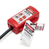 Plug/Cylinder/Forklift Lockout Device, Plastic, Red, Locked Out