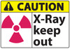 Caution Sign, X Ray Keep Out