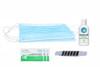 Flu Safety Daily Travel Kit.