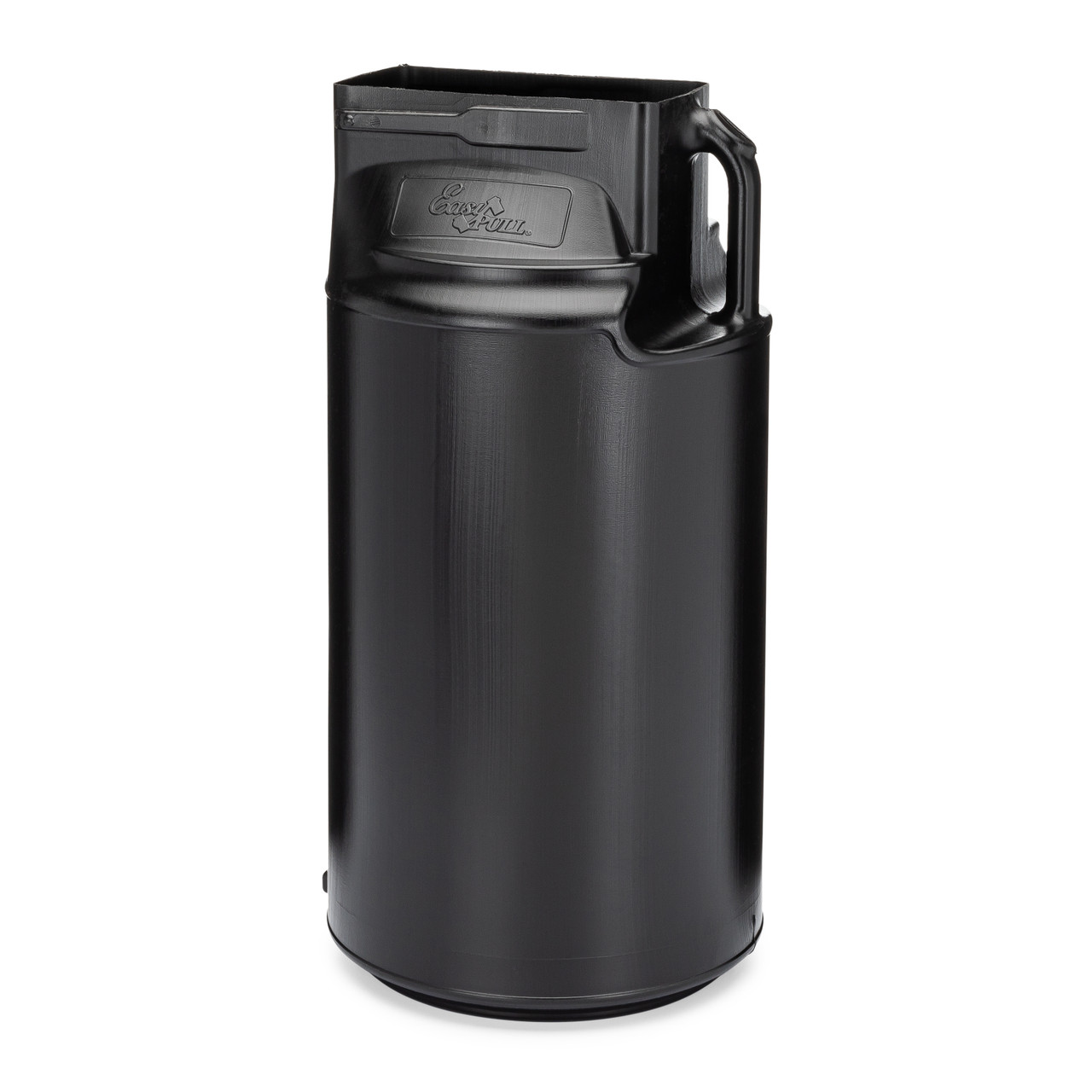 Can crusher collection barrel