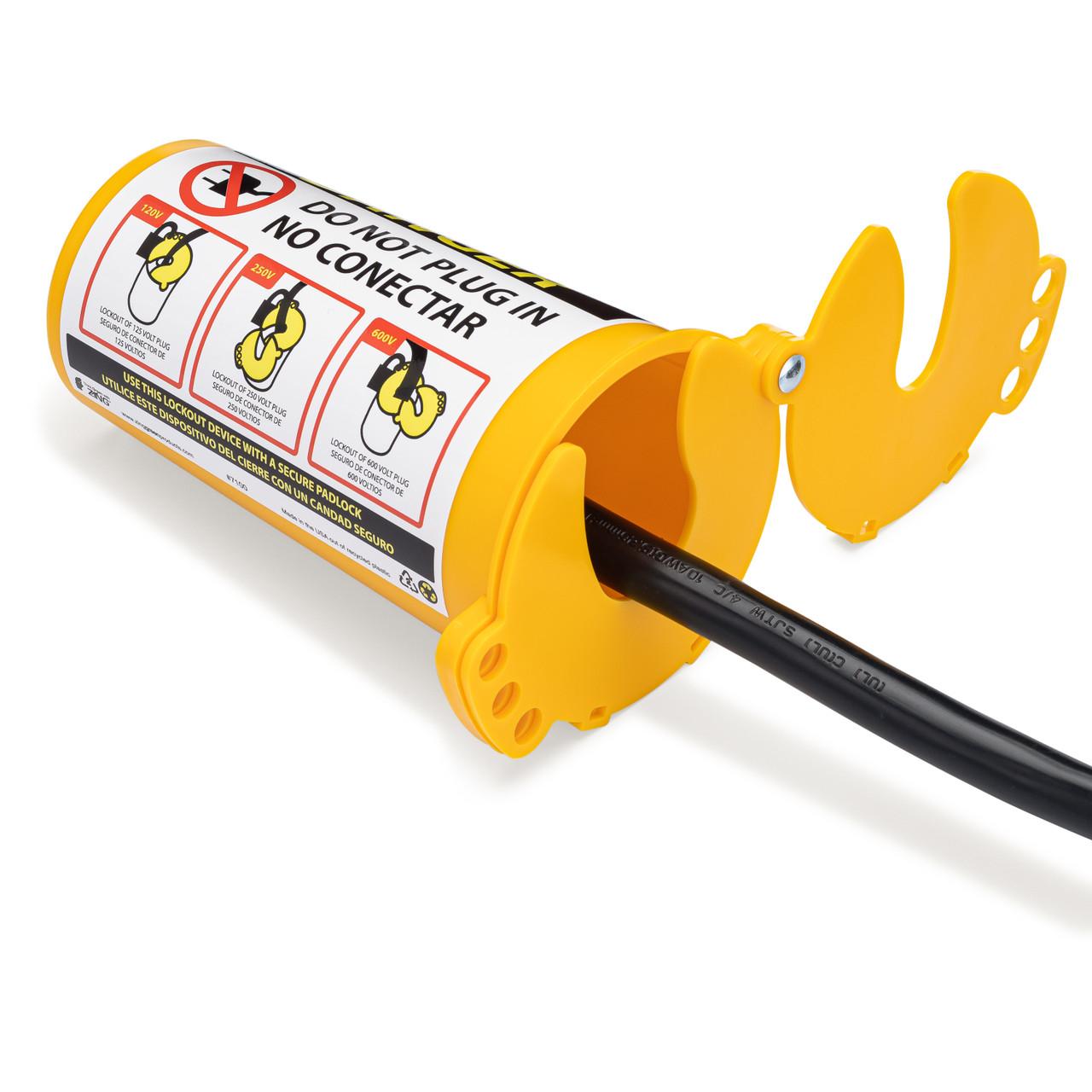 plug lockout device