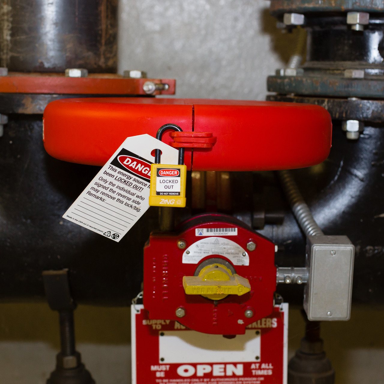 Gate Valve Lockout, 10 - 13 IN Wheel