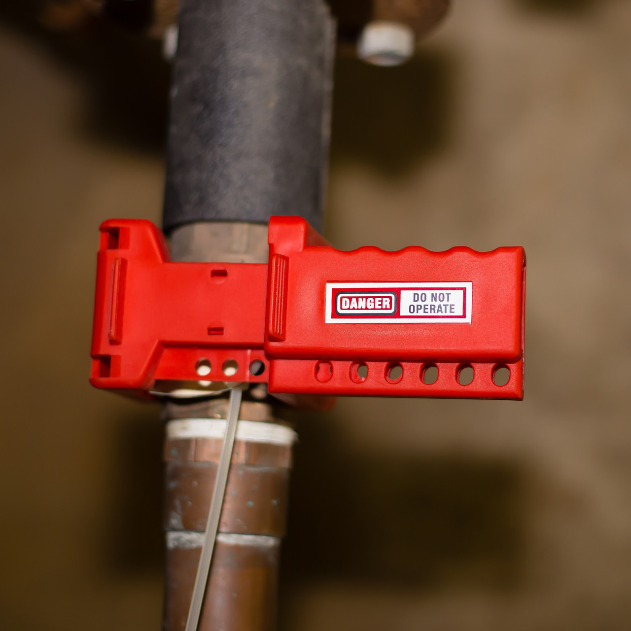 Ball Valve Lockout, 3/8 - 1.4 IN Dia