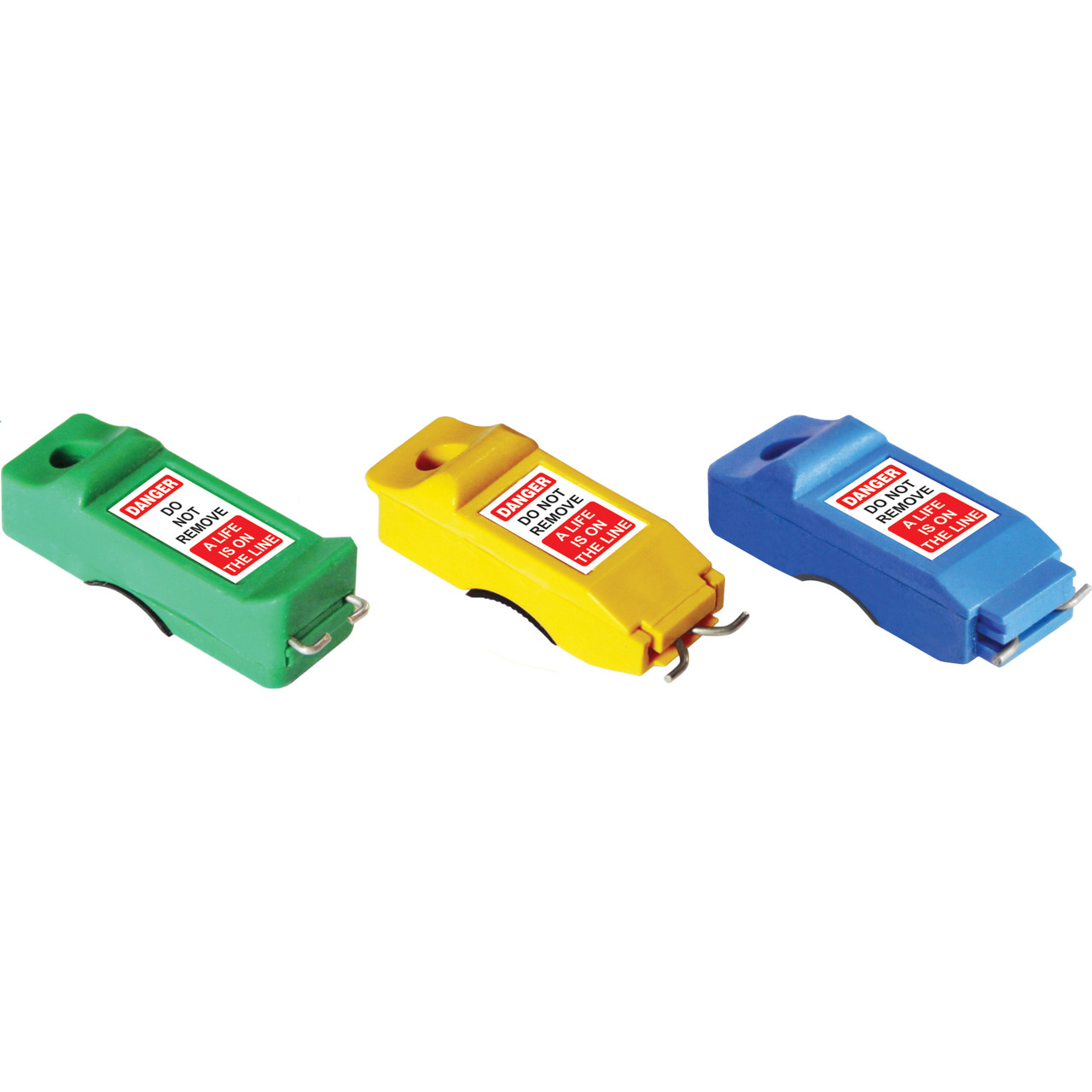 Slider Pin Circuit Breaker Lockouts Set