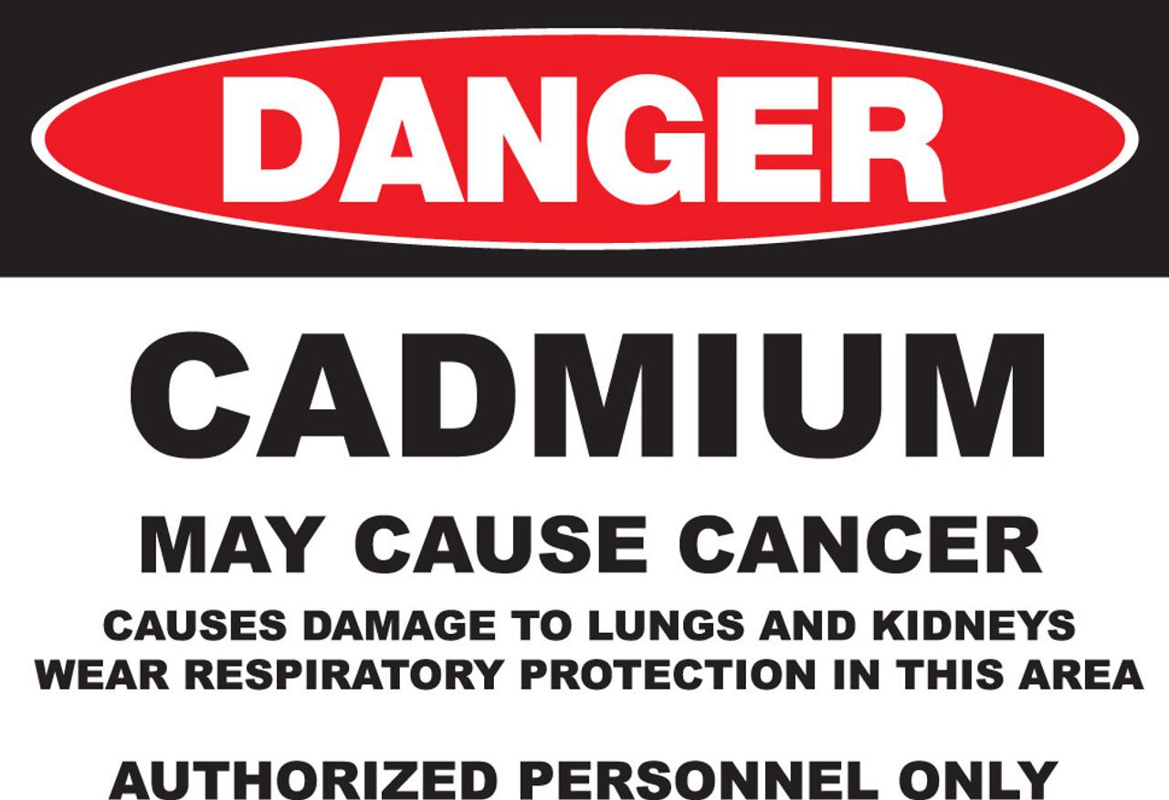 DANGER Cadmium