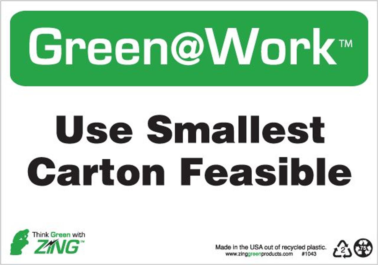Use Smallest Carton Feasible