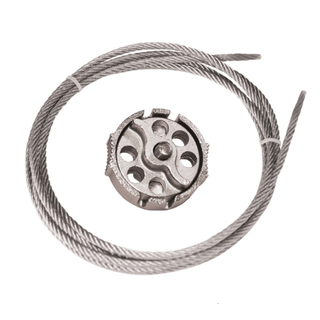 Cable Lockout, 6 ft Steel Cable