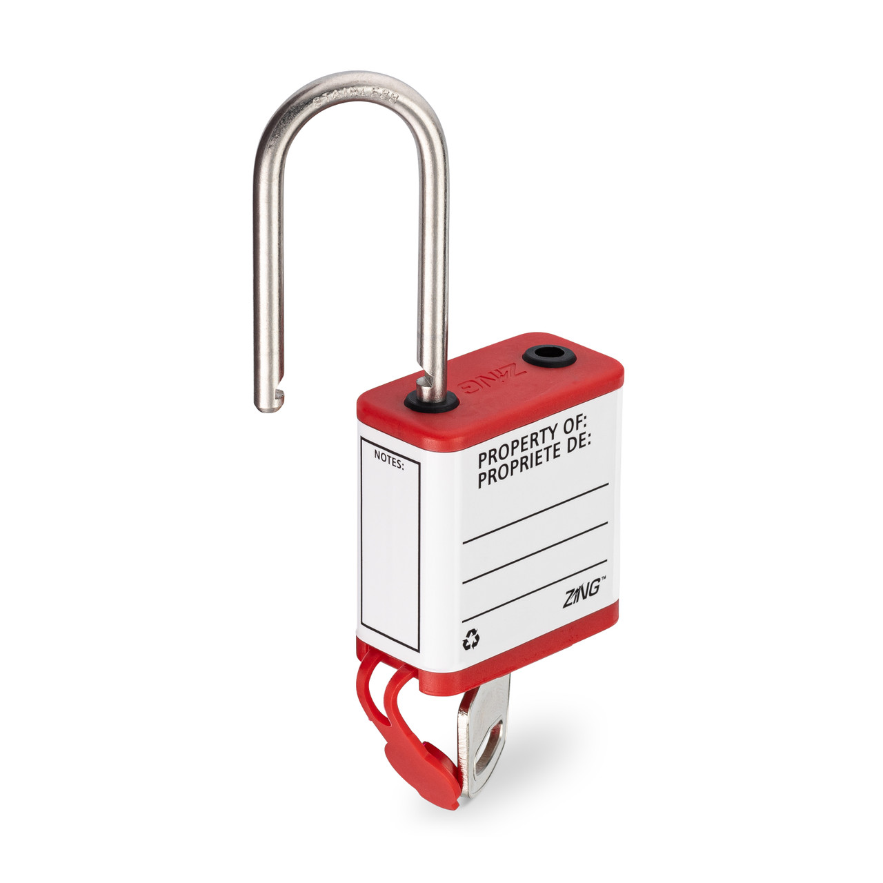 800 Series Extreme Environment Padlock, Available in Different Key Types and Shackle Lengths