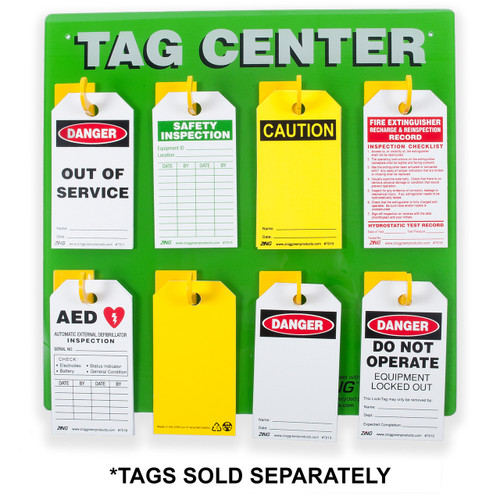 Safety Tag Center, 8 Hook