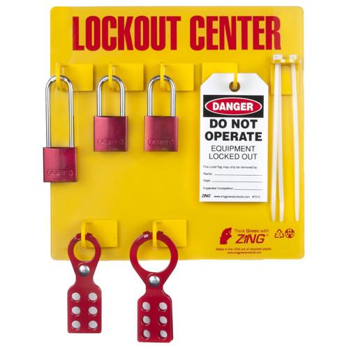 Lockout Tagout Station, 3 Padlock