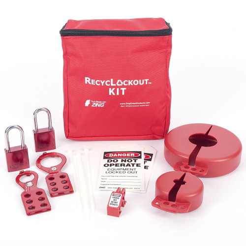 Lockout Tagout Kit, 12 Component