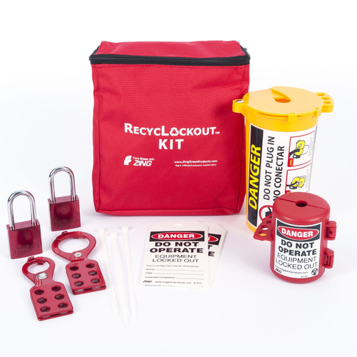 Lockout Tagout Kit, 11 Component