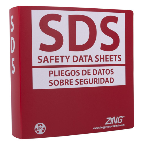 "SDS Binder, 2.5"" Ring (500 Sheets)"