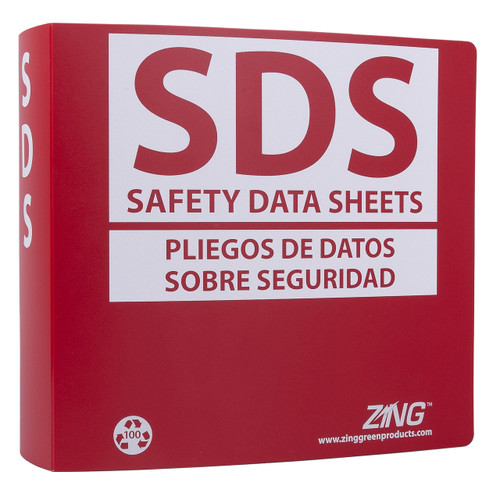 "SDS Binder, 3.0"" Ring (600 Sheets)"