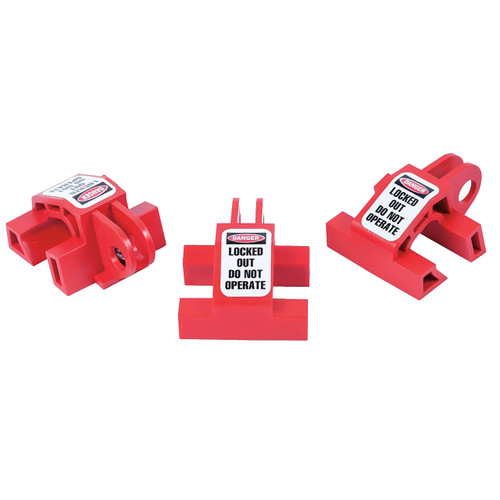 ZING 7111 RecycLockout Double Breaker Lockout, Universal 3 Pack