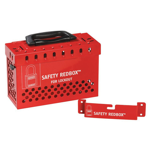 Group Lockout Box-Steel-Wall Mountable