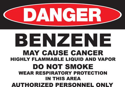 DANGER Benzene