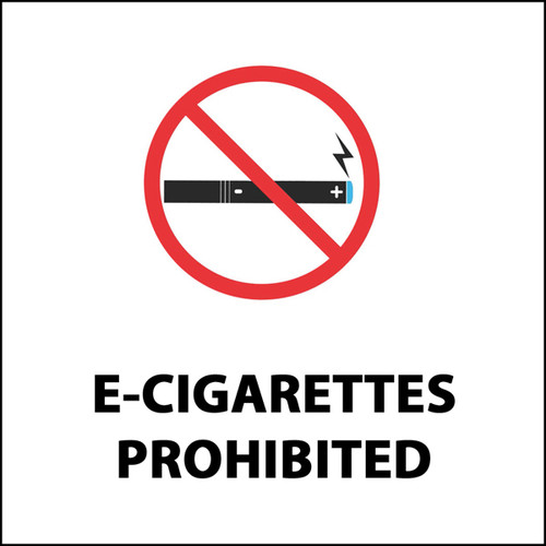 E-Cigarettes Prohibited