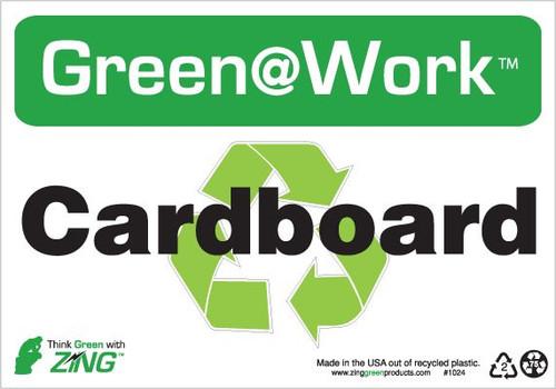 Cardboard, Recycle Symbol
