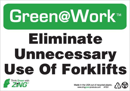 Eliminate Unnecessary Use of Forklifts