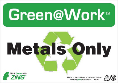Metals Only, Recycle Symbol