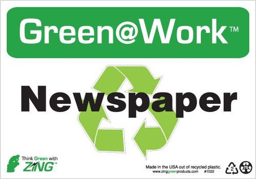 Newspaper, Recycle Symbol
