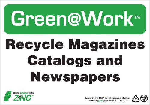 Recycle Magazines, Catalogs and Newspapers