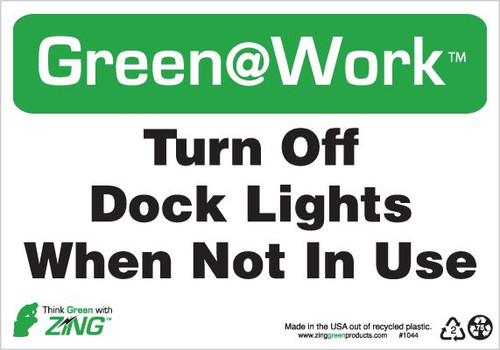 Turn Off Dock Lights When Not In Use