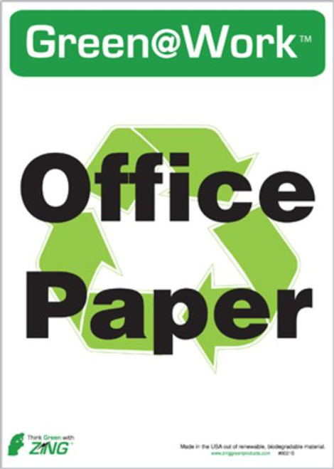 Recycle Office Paper