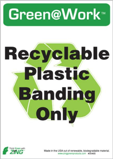 Recycle Recycled Plastic Banding