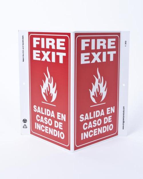 Eco Safety V Sign, 11X10.6