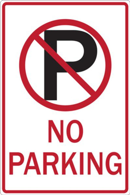 ZING Eco Parking Sign, 18X12, EGP
