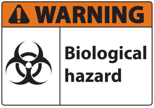 BioHazard Sign, Warning Biological Hazard