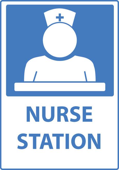 Nurse Station Sign