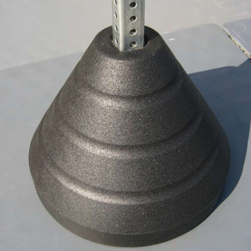 signpost with base weight