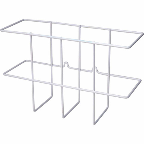 ZING 7199-White Eco Binder Holder, Wire Wall Rack
