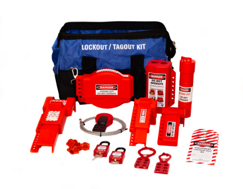 Deluxe Valve Lockout Bag Kit