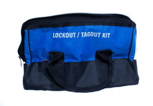 Lockout Duffel Bag, Blue, Medium, Unstocked