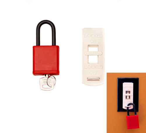 Electrical Wall Switch Lockout Set