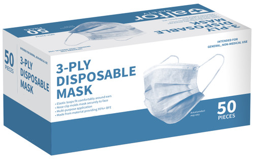 Surgical Masks, Box of 50
