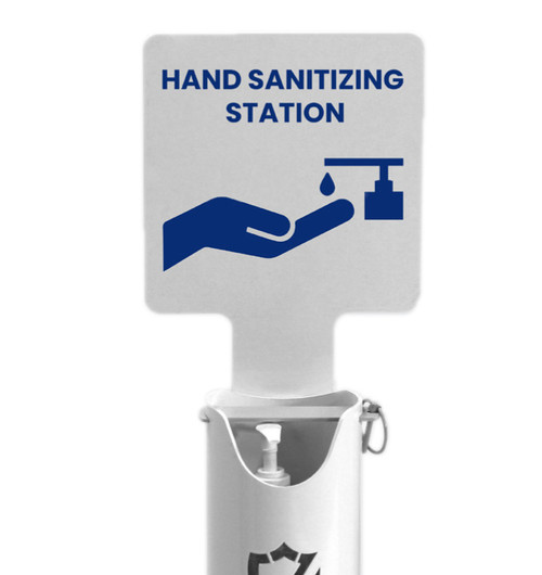 Hand Sanitizer Station Sign