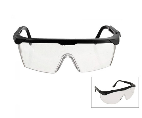 Impact-resistant safety glasses
