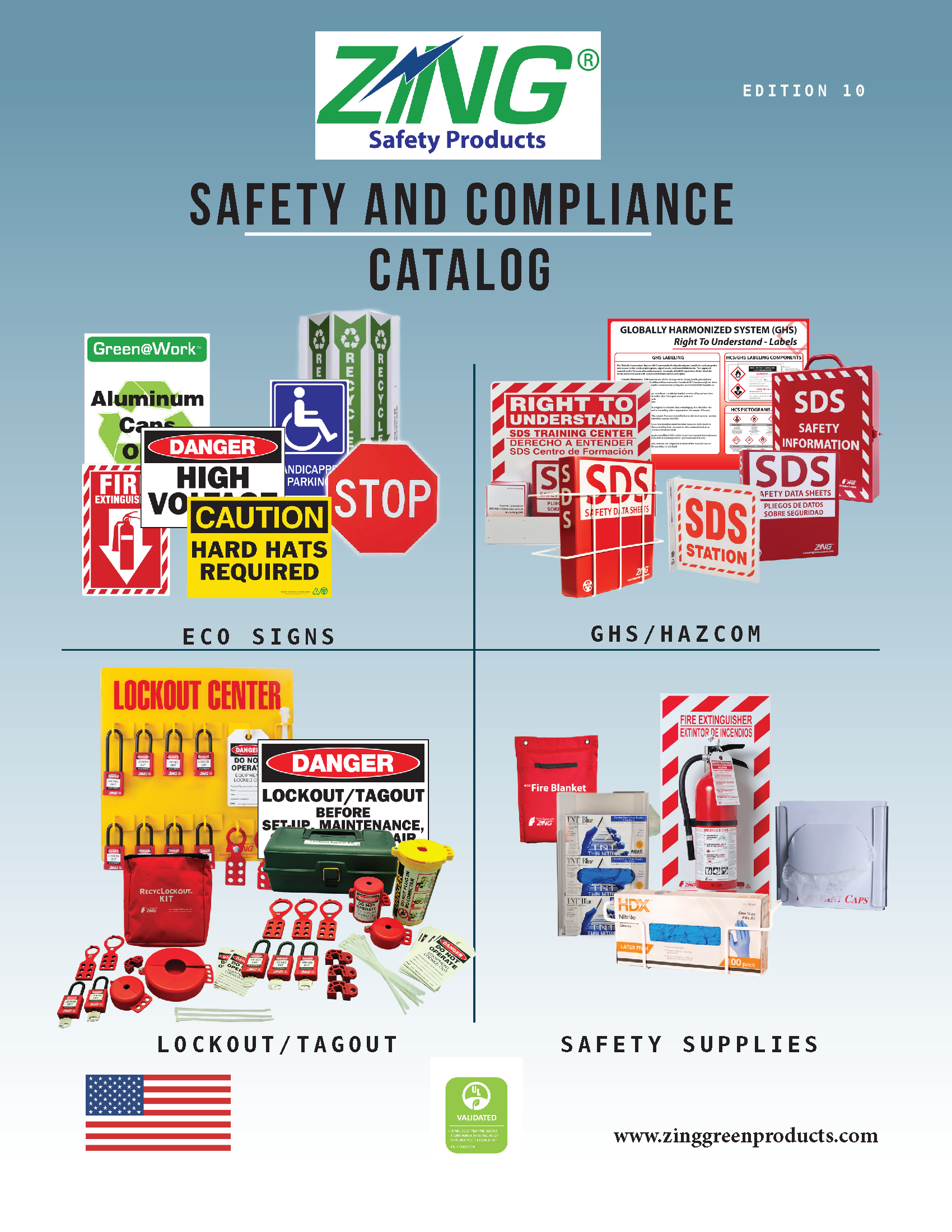 ZING Green Safety Products Catalog