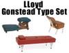 Lloyd Gonstead Type Set