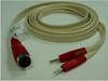 Replacement Leads for LSI COMPATIBLE 4-PIN DIN TO DUAL PINS