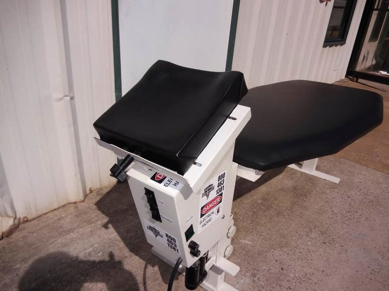 Used Upper Cervical Specialty Table & Xray Upper Cervical Specialty Clamp