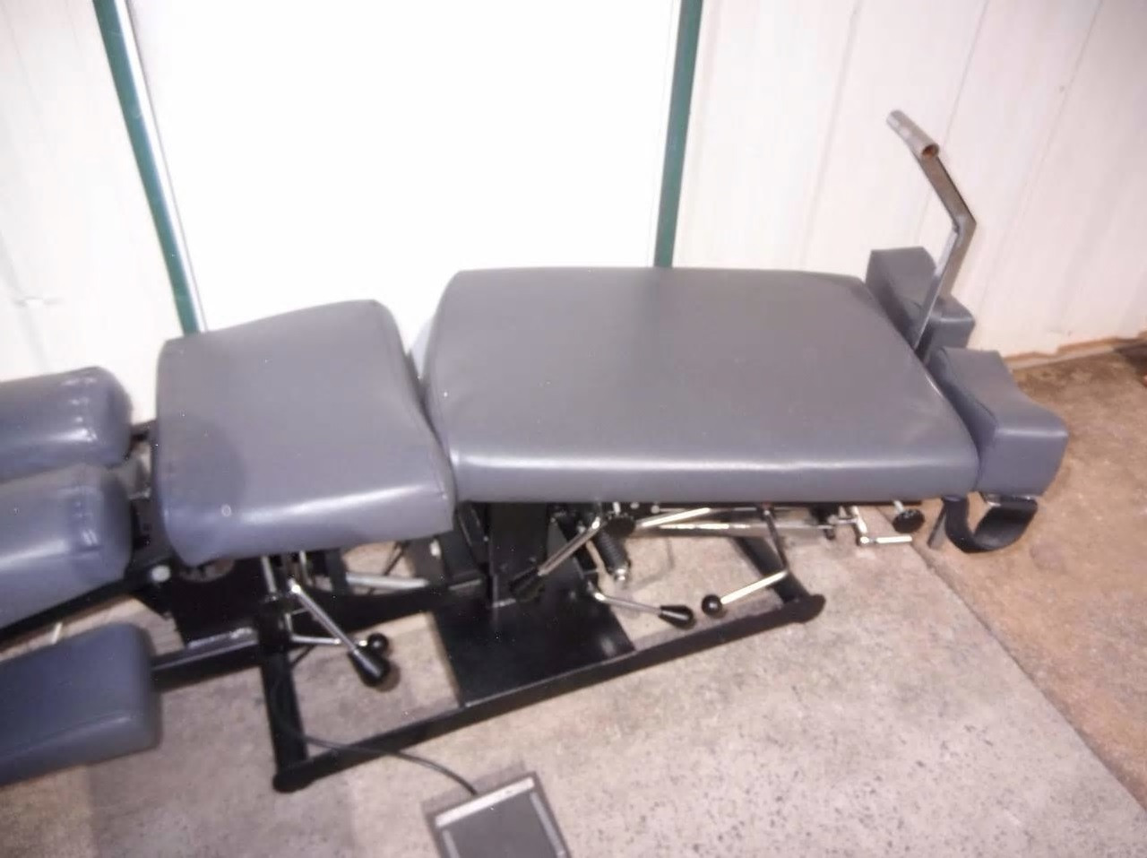 Used Titan Elevation Manual Flexion Table With Pelvic, Lumbar, & Cervical Drop