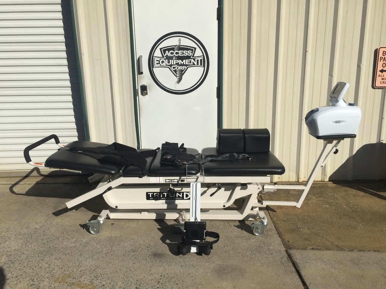 Used Chattanooga Dts 550 Decompression table