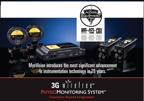 Myovision - Myovision  Package Deal 2   Includes ScanVision ,Dynavision and  Physiovision