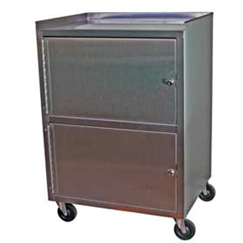 KC321 Stainless Dual Cabinet Cart